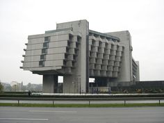 1. Former Ministry of Highways  The former home of the Georgian Ministry of Highways shows the fascinating communist architecture. This building was built in the 1975 and looks like creation...