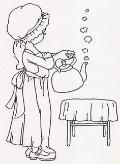 Girl w Hot Tea Kettle   Flickr - Photo Sharing!