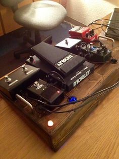 My new relic-boards pedalboard!