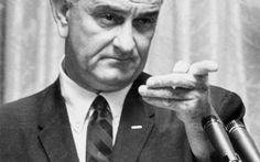 PRESIDENT LYNDON JOHNSON's legendary arm-twisting and a Congress dominated by his fellow Democrats lead to creation of two landmark government health programs: MEDICARE for the elderly and MEDICAID for the poor.