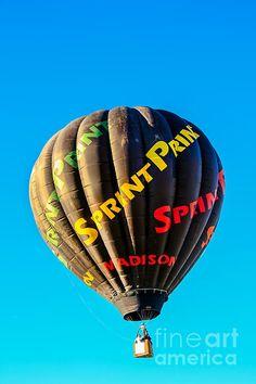 Sprint Print Balloon: See more images at http://robert-bales.artistwebsites.com/