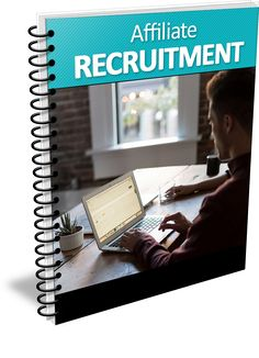 Affiliate Recruitment Report with Personal Use Rights - http://www.buyqualityplr.com/plr-store/affiliate-recruitment-report-personal-use-rights/.  Affiliate Recruitment Report with Personal Use Rights This guide will teach you how to successfully recruit affiliates to promote your products and increase sales When you sell products online, a great way to get the word out about your offerings is to have an army of people behind you. These....