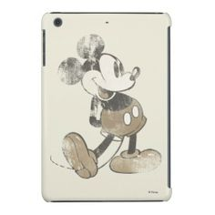 Disney Vintage Mickey Mouse iPad Mini with Retina display Case #Disney