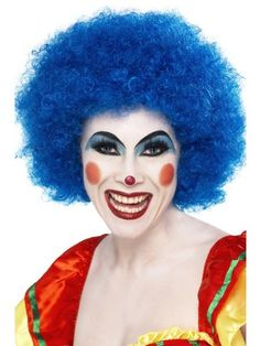 Crazy Clown Wig: BLUE Photo for illustrative purposes only. Check listing for what is included or if unsure please contact us. Cet article…