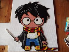 Harry Potter perler fuse beads Chibi style by capricornc5 on deviantart