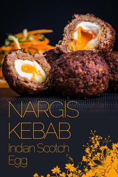 I love Scotch Egg & I have been trying to replicate an Indian version the Nargis Kebab for quite some time and by jove I think I have cracked it! via Krumpli Egg Recipes For Dinner, Brunch Recipes, Appetizer Recipes, Great Recipes, Curry Recipes, Beef Recipes, Cooking Recipes, Healthy Recipes, Indian Food Recipes