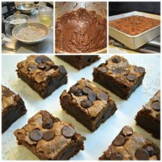 All in a day's work :) #minibrownies #chocolatechip #jrdessertbakery