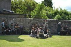 Behind the scenes at #Outlander #OutlanderSeries