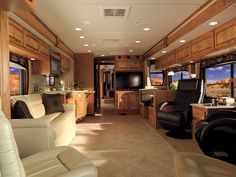 2011 Holiday Rambler Neptune interior