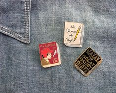 They even have a trip back to high school English class. | These Pins Are The Perfect Gift For Your Favorite Bookworm