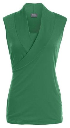 crossover nursing top - I could definitely wear this to work