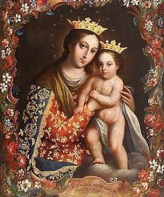 José de Paez (1720-1795) —   Our Lady of Refuge, 1780  (564x680)