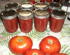 This is the best salsa recipe Ive found so far and Ive tried about a dozen. I got it from one of the local hospital cookbooks that are sold in my area. I changed it a bit and have been canning it for years. The reason I plant a garden is for this salsa. We would be lost without it. Hope you like it as much as we do. One of our members who is a food scientist took this salsa to work, tested the pH and found it measured under 4.0 (well within the safety limit for boiling water bath…