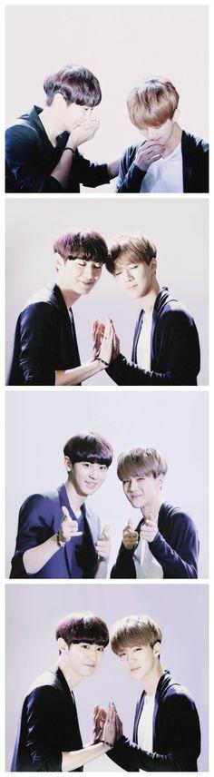EXO's Chanyeol and Sehun they're Sooooo cuuuuute! Chanhun!