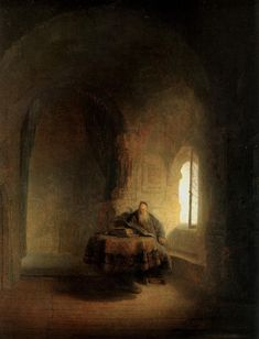 """Marcus Berian on Twitter: """"Baudelaire compared the work of Rembrandt to a """"sad hospital filled with murmurs."""" http://t.co/CLtJjGniom"""""""