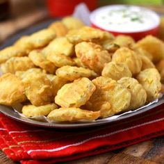 This one seems to have the most pins....hope they are good!   Hooters Copycat Recipe: Fried Pickles