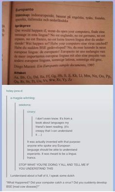 I'm Russian, I only understand the English bits and a little bit of the German :/_ I understand all of this shit. I speak English, German and a little Italian I'm Russian, I only understand the English bits and a little bit of the German :/_ I understand Douglas Adams, Tumblr Funny, Funny Memes, Hilarious, Videos Funny, Funny Quotes About Life, Life Quotes, Funny Sayings, Humor Quotes