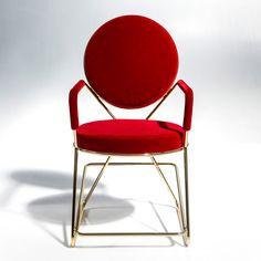 "David Adjaye's Double Zero chair for Moroso celebrates ""the power of welding"""