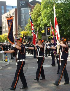 #ULSTER #COVENANT #PARADE,#BELFAST,#NORTHERN #IRELAND.2012. Orange Order, The Covenant, Belfast, Northern Ireland, Flute, Thunder, Blood, Bands, Northern Ireland County
