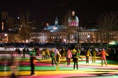 Montreal in Winter.  Book your trip today, call BTI Travel at 315-472-7737