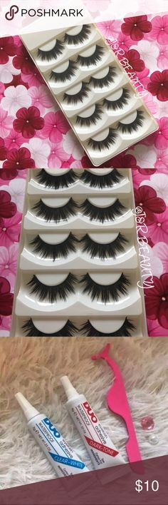 ICONIC Eyelashes 5 Pairs +$2 Add on eyelash Applicator  +$3 Add on eyelash glue Please message me if you want to add them.   ✅ Bundle &  Save  # tags Iconic, mink, red cherry eyelashes, house of lashes, doll, kawaii, case, full, natural,  Koko, Ardell, wispies, Demi , makeup, Iconic, mink, red cherry eyelashes, house of lashes, doll, kawaii, case, full, natural,  Koko, Ardell, wispies, Demi , makeup, mascara, eyelash applicator, Mykonos Mink , Lashes , wispy ,eyelash case, mink lashes  Ship…