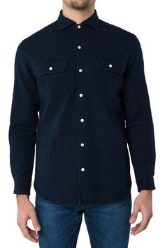 3x1 Long Sleeve Shirt in Lyra