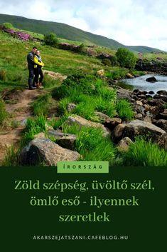Zöld fű, üvöltő szél, ömlő eső, lehengerlő szépség - Írország, ilyennek szeretlek | Akarsz-e játszani? #utazás #irország #ireland #magyarul Donegal, Us Travel, Humor, Mountains, Nature, Humour, Naturaleza, Jokes, Bergen