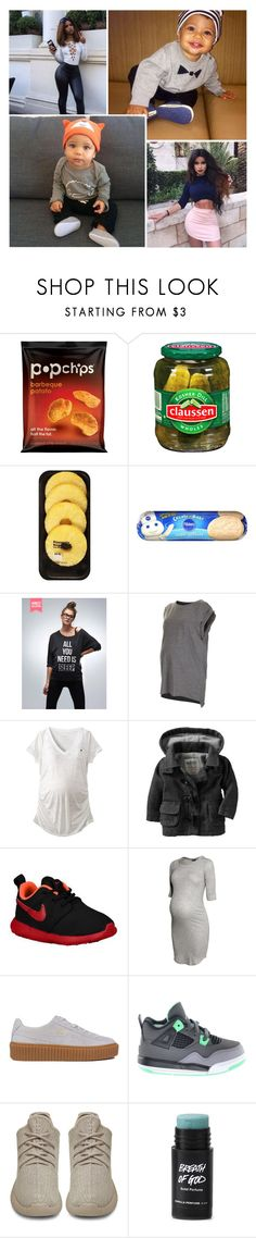 """""""ta da."""" by e-mpathy ❤ liked on Polyvore featuring Lindt, Topshop, Liz Lange, Old Navy, NIKE, H&M, Puma and adidas Originals"""