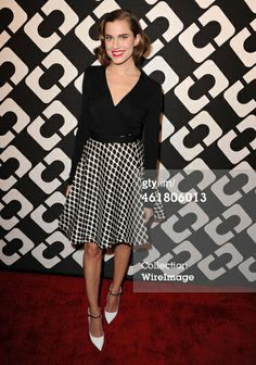Allison Williams arrives at the Diane Von Furstenbergs…