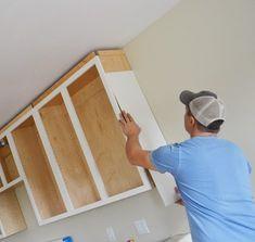 FInishing Details on Kitchen Cabinets | Ana White
