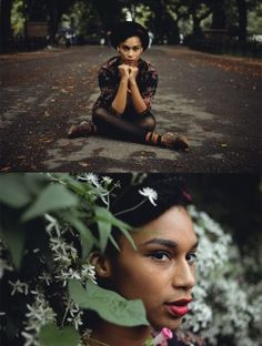 Pretty fall photos of Kat by Andre Wagner. (via Vintage Kitty)