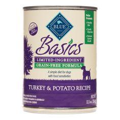 Blue Buffalo Basics LID Turkey & Potato Adult Wet Dog Food, 12.5 Oz (Case of 12)