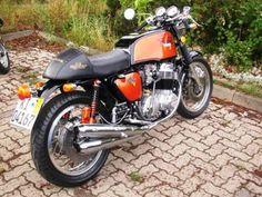 1975 honda cb750f cafe | Cb 750 K7 Cafe Racer Paperblog | Pelauts.Com