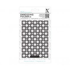 SUPER OFERTA **30%** Carpeta de texturas Xcut Azulejos Marroquíes de estrellas compatible con Sizzix- XCU 515157