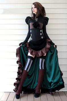 Steampunk Couture | Gothic Beauty Magazine