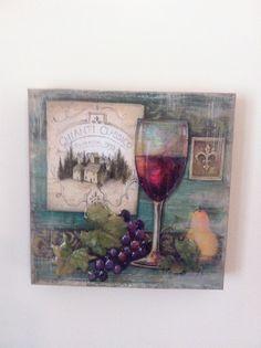 Yalancı mozaik en sevdiğim ahşap boyama tekniği mutfak panosu...
