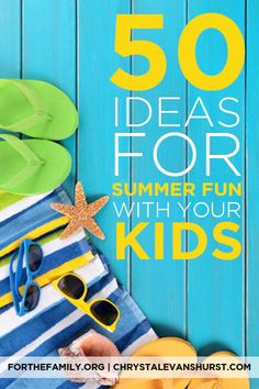 50 Ideas for Summer Fun with Your Kids Are you ready for summer fun? As the school year draws to a close, many of us are making plans for the hot days ahead. What's on your list? These ideas will set you up for fun indoors and out! Summer Fun For Kids, Summer Activities For Kids, Family Activities, Diy For Kids, Indoor Activities, Outdoor Fun, Outdoor Dates, Kids Corner, Business For Kids