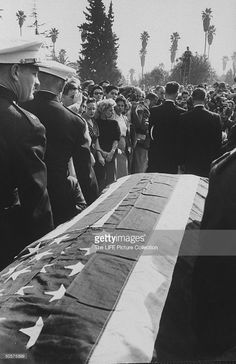Tyrone Power's Funeral | 1958 | Photo By: Allan Grant, The LIFE Picture Collection, Getty Images