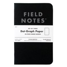 General Supply Field Notes Dot-Graph Pitch 48-Page Memo Book