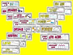 4th Grade Common Core Math Vocab.