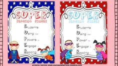 Freebie!!! - SUPER  Students using their powers to engage in reading