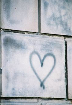 Heart on the Wall Fine Art Photography Print by chaju on Etsy, $25.00