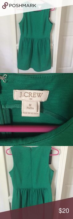 J crew dress Great condition.  Zip up back. So cute! J. Crew Dresses