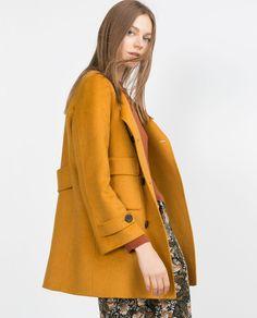 Image 4 of HAND MADE COAT from Zara