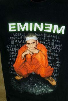 Eminem Criminal Concert Tour T-Shirt Black M Rap Hip Hop Music Orange  Jumpsuit. Tour T Shirts 8a1733b6a9a