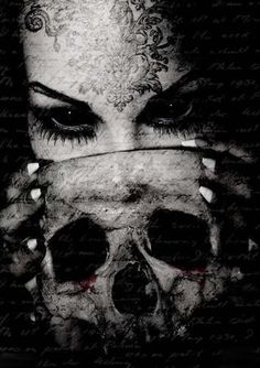 Dark Art: Lovecraftian Mythos Occult – Death's Muse Dark Gothic, Gothic Art, Gothic Girls, Dark Fantasy, Fantasy Art, Fantasy Images, Dark And Twisted, My Demons, Sombre