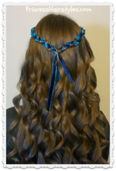 Evie hairstyle tutorial for Halloween