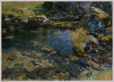 Alpine Pool John Singer Sargent
