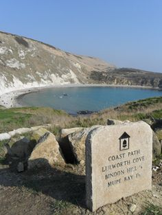 The Costal Path to Lulworth Cove in Dorset, UK wonderful walking area
