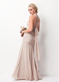 1260d993474 Magbridal Marvelous Chiffon Sweetheart Neckline Convertible Sheath Bridesmaid  Dresses